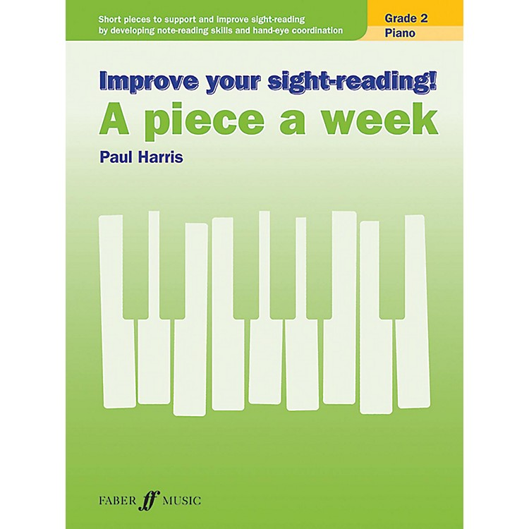 AlfredImprove Your Sight-Reading! Piano: A Piece a Week, Grade 2 Elementary