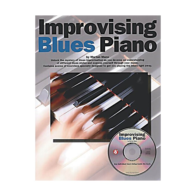 Music SalesImprovising Blues Piano Music Sales America Series Softcover with CD Written by Martin Mann