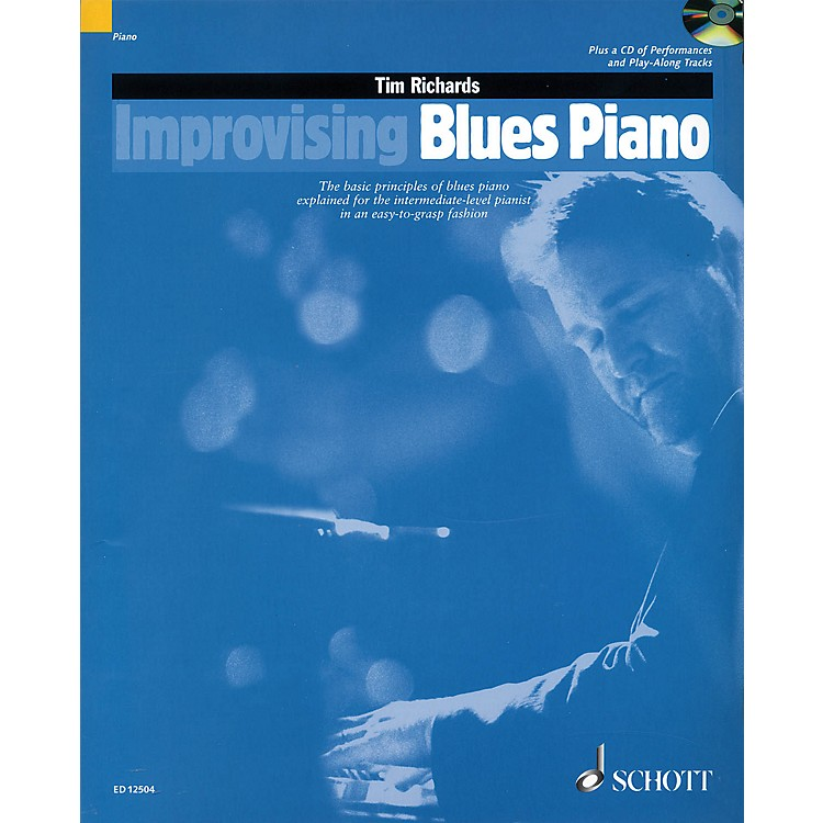 SchottImprovising Blues Piano Schott Series