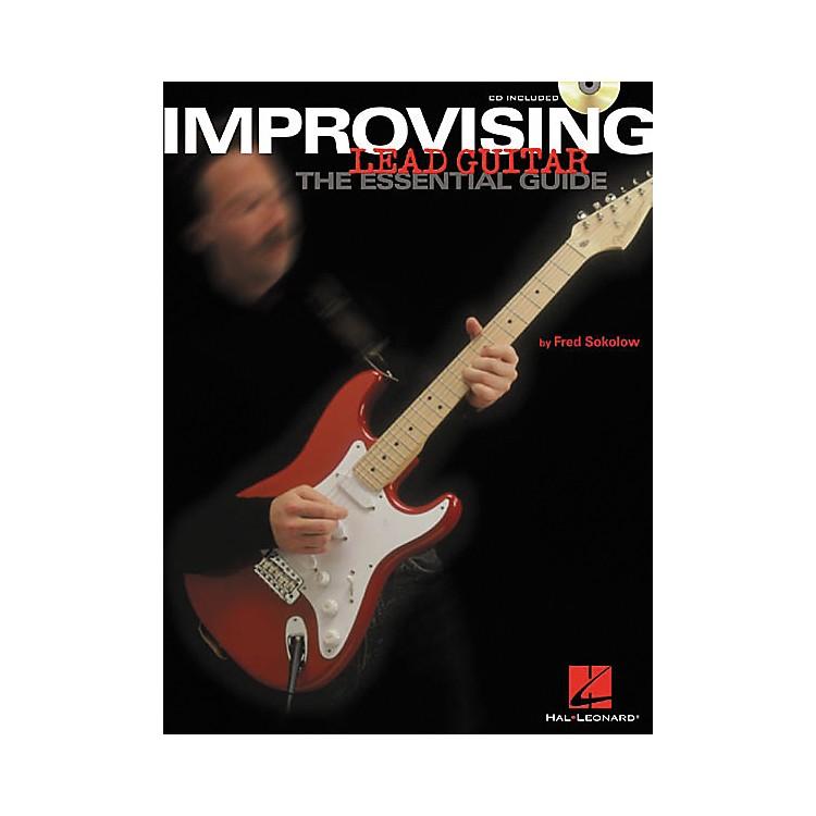 Hal LeonardImprovising Lead Guitar (Book/CD)