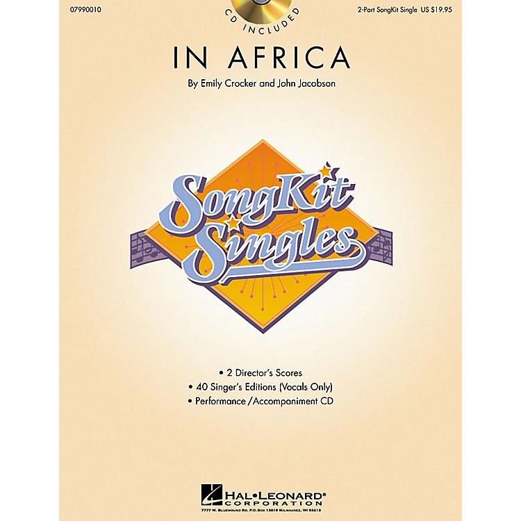 Hal LeonardIn Africa (SongKit Single) 2-Part Composed by John Jacobson