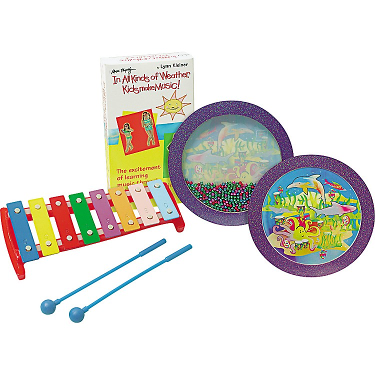 Rhythm BandIn All Kinds of Weather Kids Make Music! Percussion Kit with Video