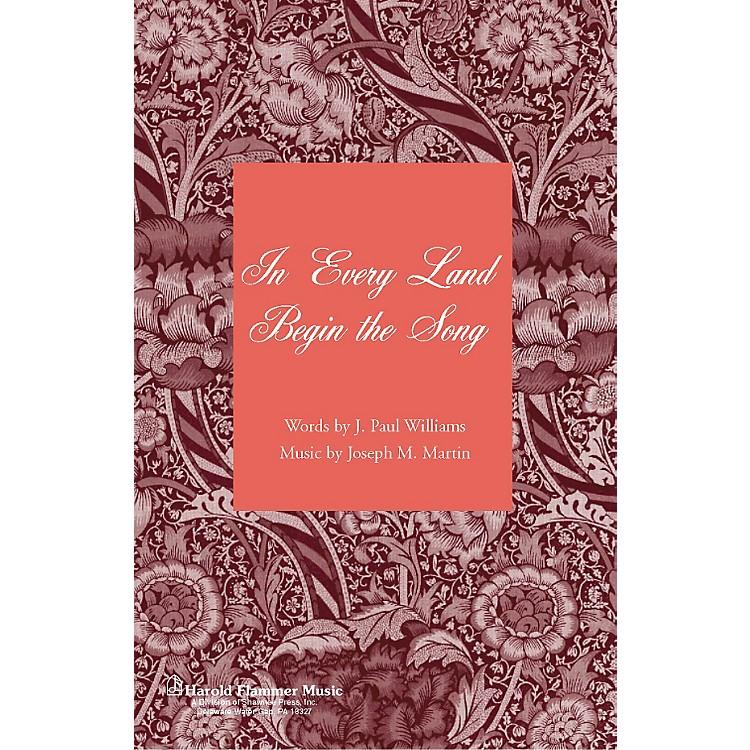 Hal LeonardIn Every Land Begin The Song SAB