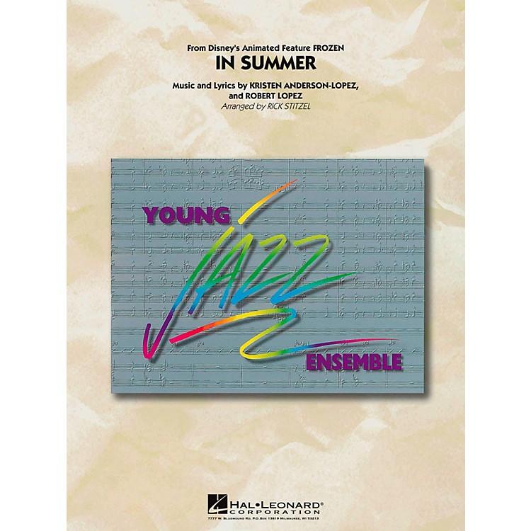 Hal LeonardIn Summer (From Frozen) Jazz Band Level 3