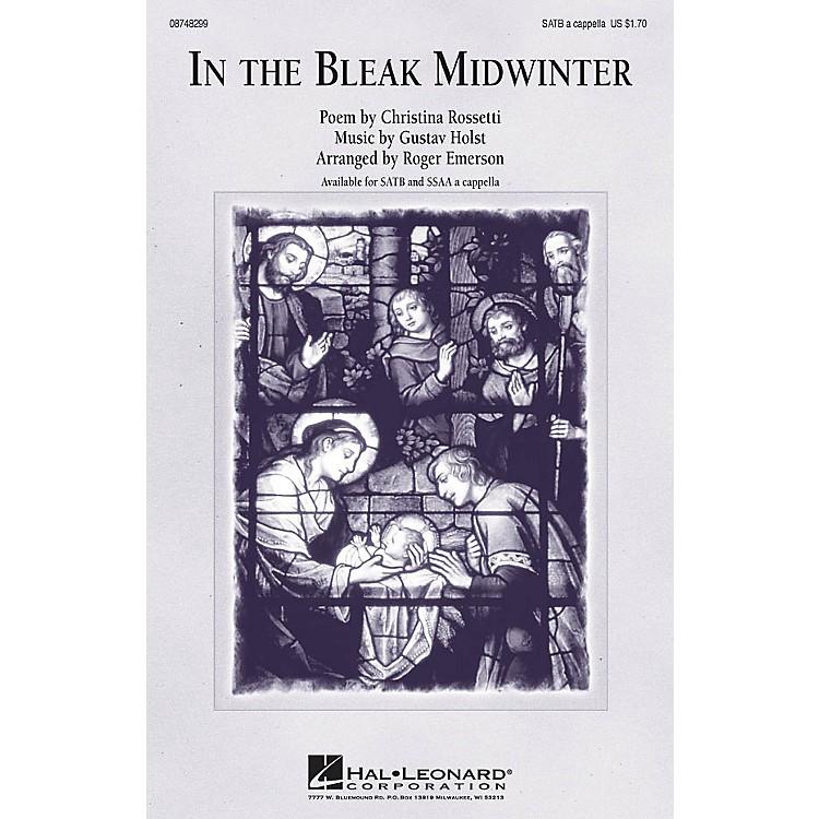 Hal LeonardIn the Bleak Midwinter SSAA A Cappella Arranged by Roger Emerson