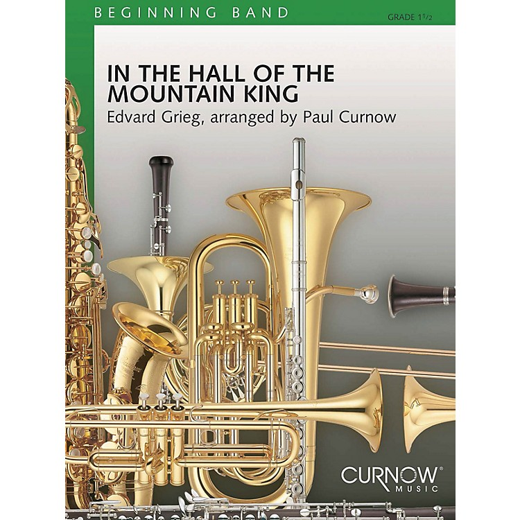 Curnow MusicIn the Hall of the Mountain King (Grade 1.5 - Score Only) Concert Band Level 1.5 Arranged by James Curnow