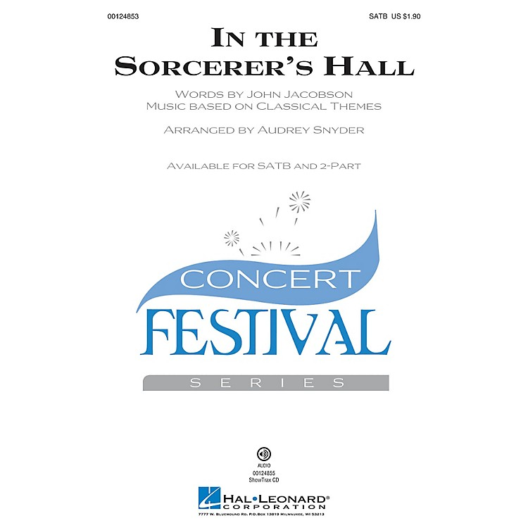 Hal Leonard In the Sorcerer's Hall SATB composed by John Jacobson