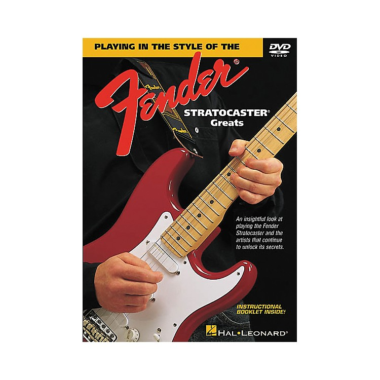 Hal Leonard In the Style of Stratocaster Greats (DVD)