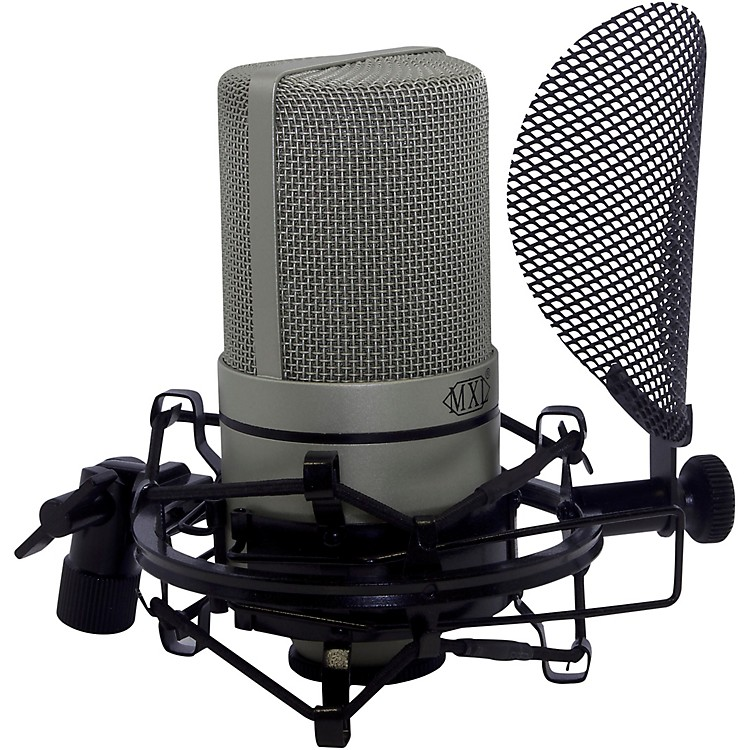 MXLIncludes 990 microphone, SMP-1 PF/SM & cable