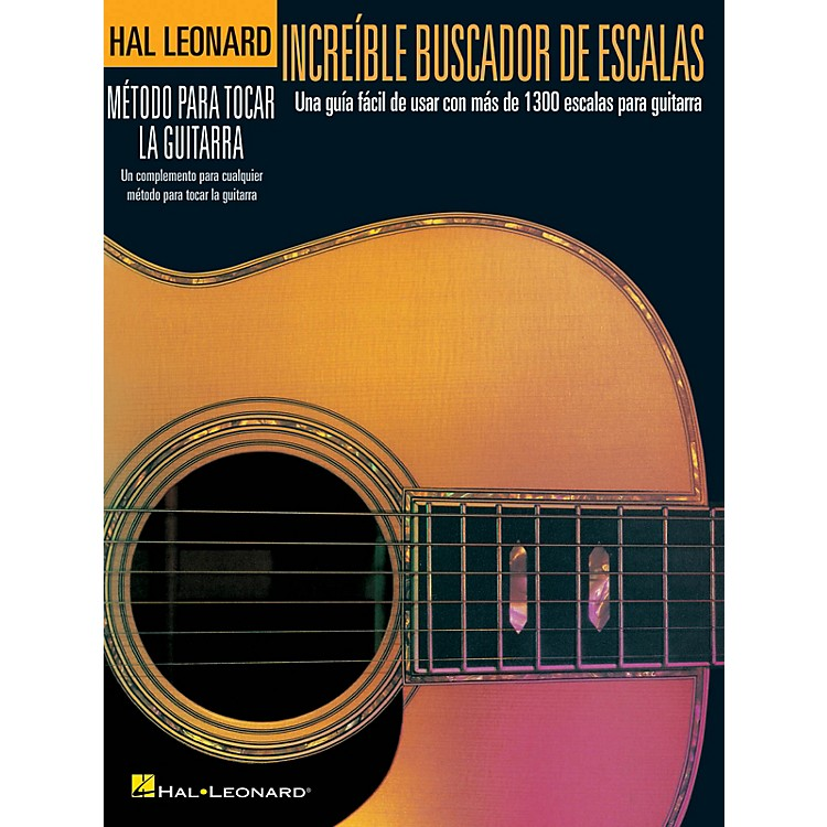 Hal LeonardIncredible Scale Finder - Spanish Edition Guitar Method Series Softcover Written by Various