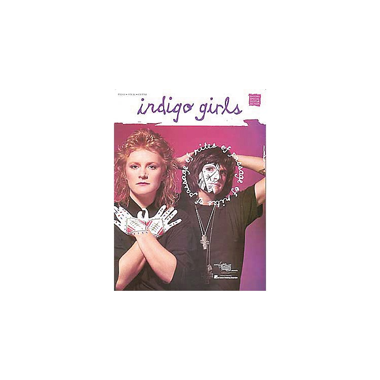 Hal LeonardIndigo Girls - Rites of Passage Piano, Vocal, Guitar Songbook