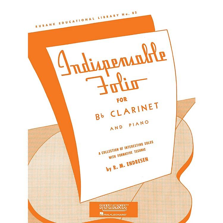 Rubank PublicationsIndispensable Folio - Bb Clarinet and Piano Rubank Solo Collection Series