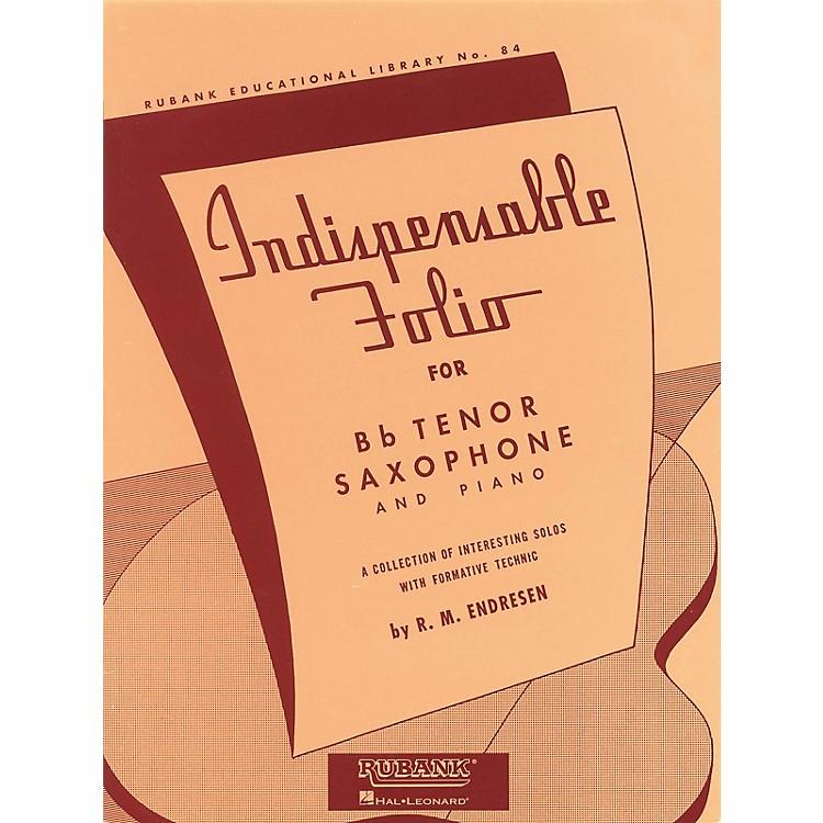 Rubank PublicationsIndispensable Folio - Bb Tenor Saxophone and Piano Rubank Solo Collection Series