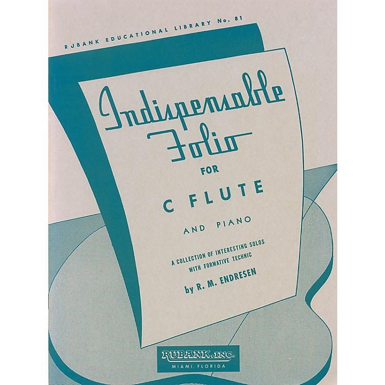 Rubank PublicationsIndispensable Folio - Flute and Piano Rubank Solo Collection Series