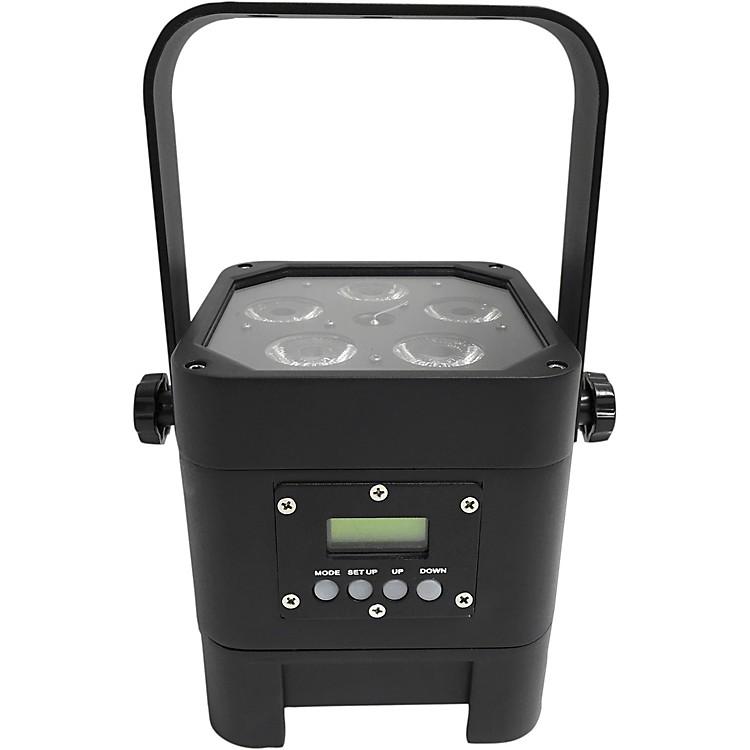 Eliminator LightingIndy Hex Par Wireless Outdoor RGBWA+UV LED Wash LightBlack