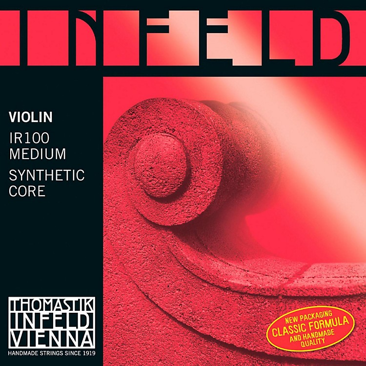 Thomastik Infeld Red Series 4/4 Size Violin Strings 4/4 Size Silver G String