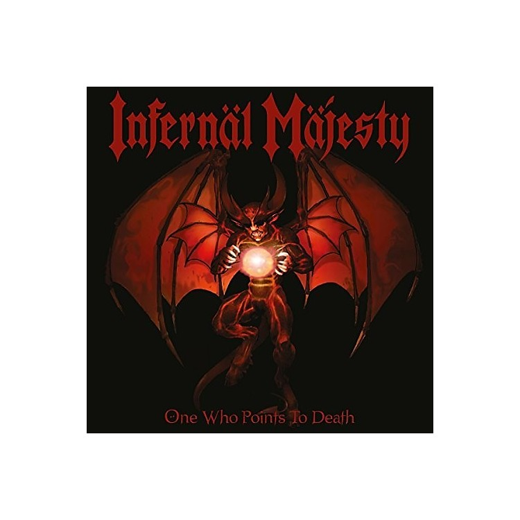 AllianceInfernal Majesty - One Who Points To Death (Blood Red Vinyl)