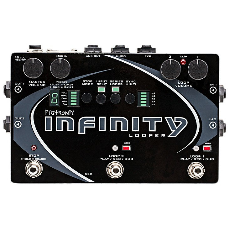 PigtronixInfinity Looper Pedal