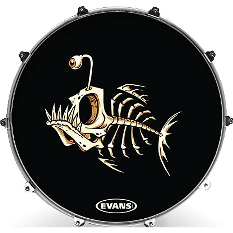 EvansInked by Evans McWhite Series Kick Drumhead