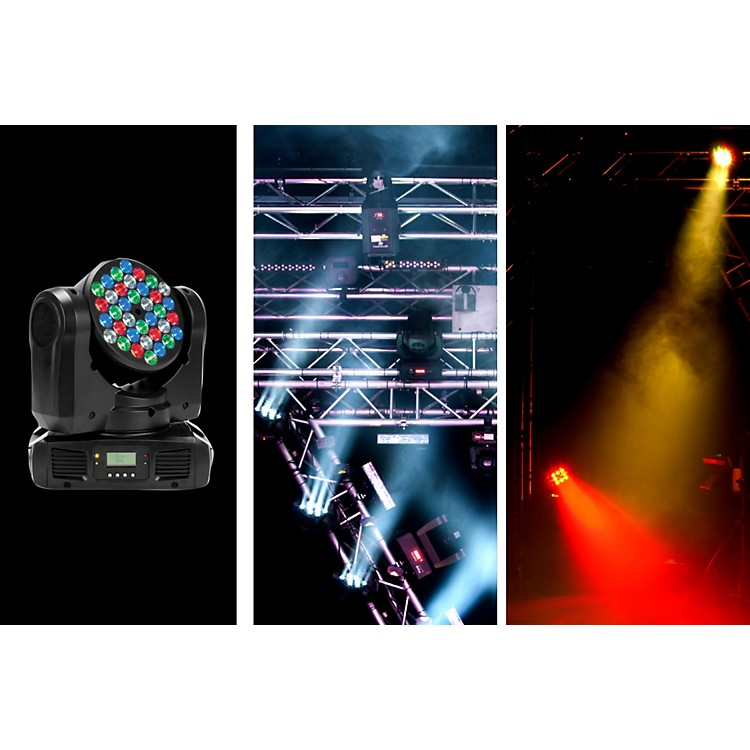 American DJInno Color Beam LED Moving-Head Lighting Effect