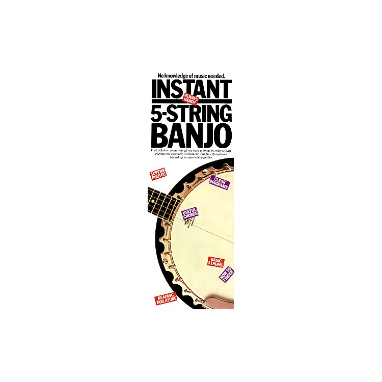 Music SalesInstant 5 String Banjo