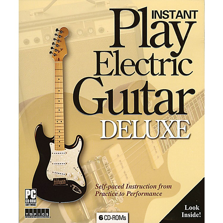 Music SalesInstant Play Electric Guitar Deluxe Music Sales America Series CD-ROM