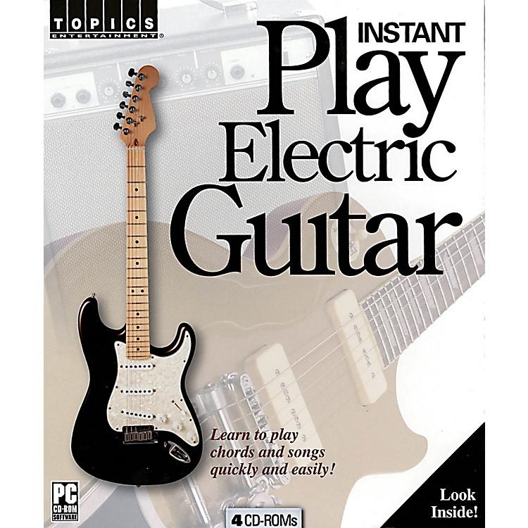 Music SalesInstant Play Electric Guitar Music Sales America Series CD-ROM