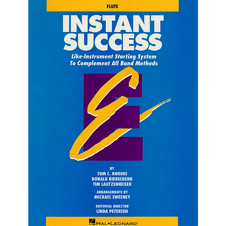 Hal LeonardInstant Success - Eb Baritone Saxophone (Starting System for All Band Methods) Essential Elements Series