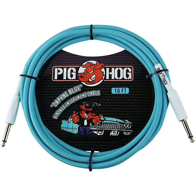 Pig HogInstrument Cable10 ft.Daphne Blue
