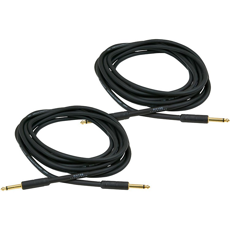 Musician's Gear Instrument Cable (2-Pack)  18.5 ft.