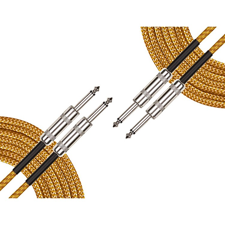 Musician's GearInstrument Cable (2-Pack)Black and Tweed18.5 ft.