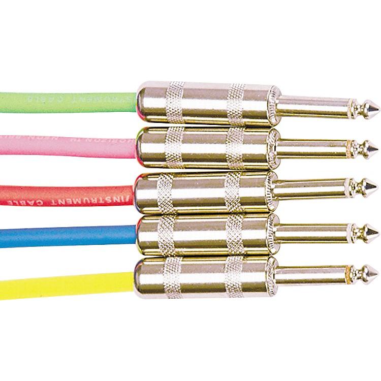 Rapco HorizonInstrument Cable Assorted ColorsNeon Blue10 ft.