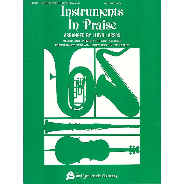 Fred Bock MusicInstruments In Praise - C Instrumental Solos/Duets