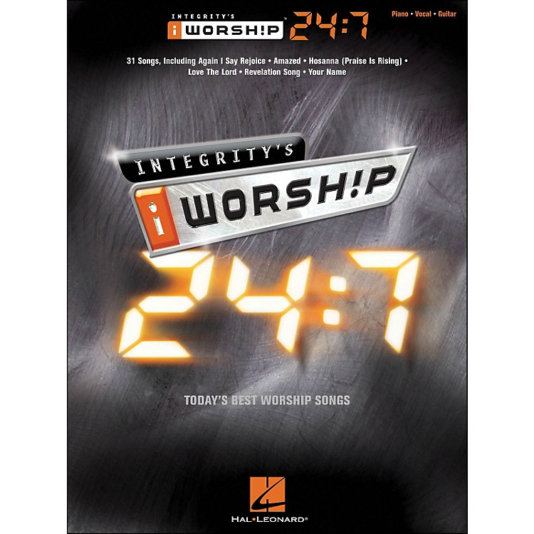 Integrity Music Integrity's iworship 24:7 arranged for piano, vocal, and guitar (P/V/G)