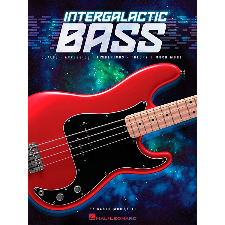 Hal LeonardIntergalactic Bass - Scales, Arpeggios, Fingerings, Theory & Much More!