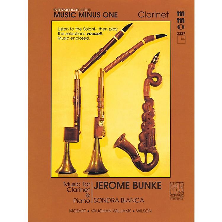 Music Minus OneIntermediate Clarinet Solos - Volume 3 Music Minus One Series BK/CD by Stanley Drucker
