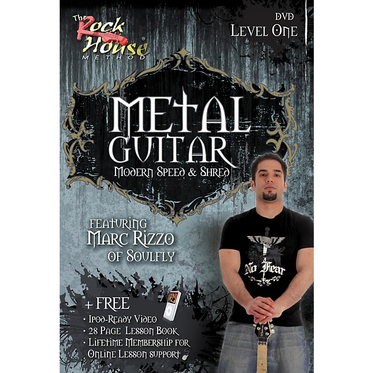 Hal Leonard Intermediate Metal Guitar with Marc Rizzo (Book/DVD)
