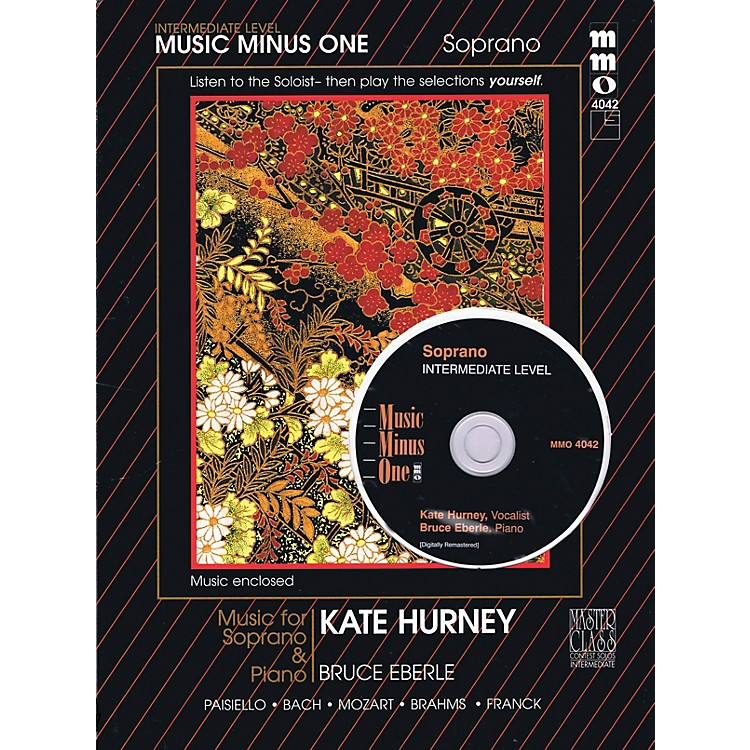Music Minus OneIntermediate Soprano Solos (Kate Hurney) Music Minus One Series Softcover with CD