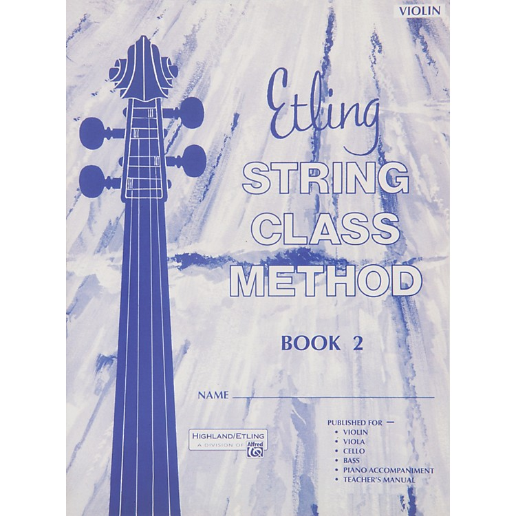 Alfred Intermediate String Techniques Violin