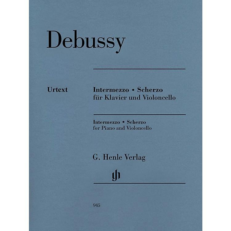 G. Henle VerlagIntermezzo and Scherzo Henle Music Folios by Claude Debussy Edited by Ernst-Günter Heinemann