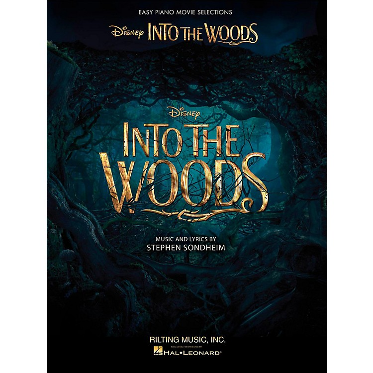 Hal LeonardInto The Woods Easy Piano Selections from the Disney Movie