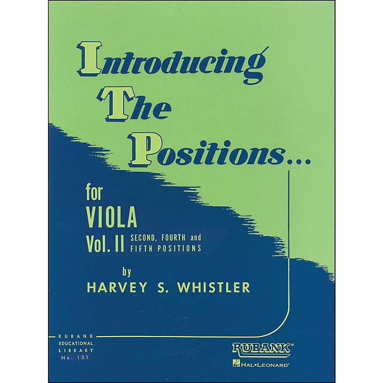 Hal LeonardIntroducing The Positions for Viola Vol 2 2nd, 4th & 5th Positions