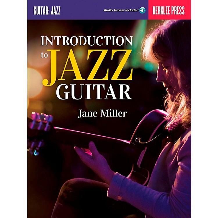 Berklee PressIntroduction To Jazz Guitar Book/Online Audio