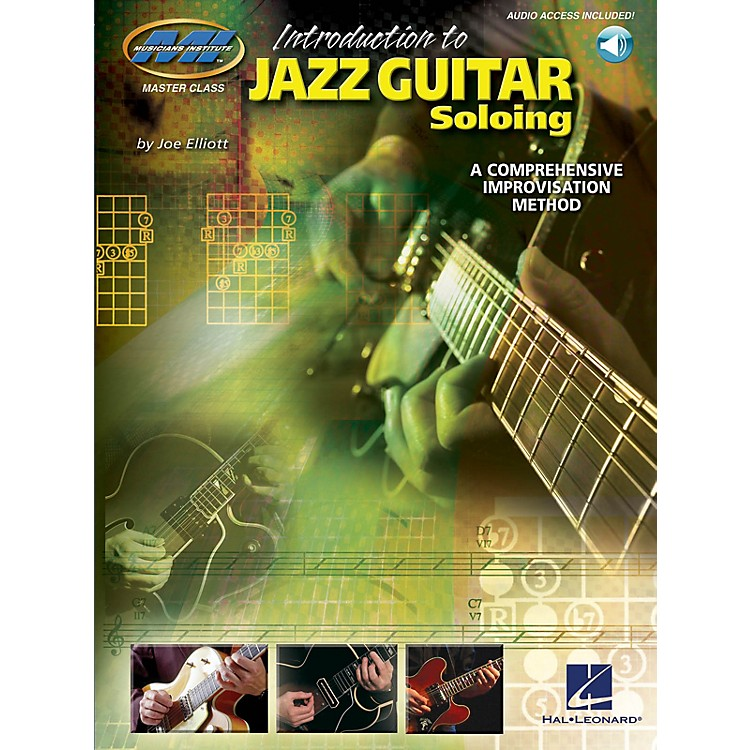 Musicians InstituteIntroduction to Jazz Guitar Soloing Musicians Institute Press Series Softcover with CD by Joe Elliott