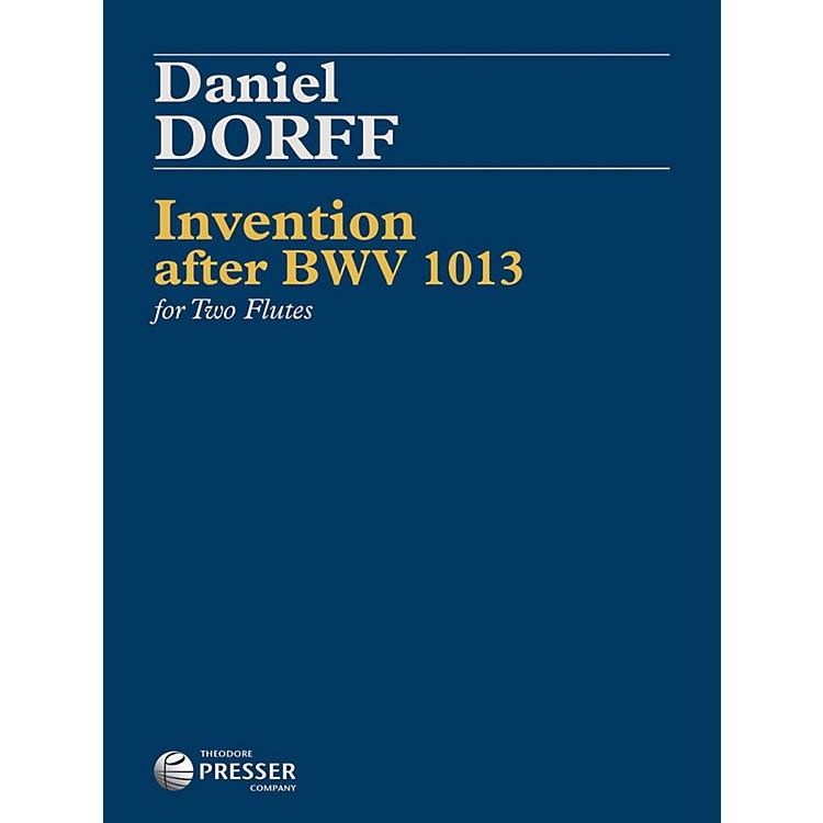 Carl FischerInvention after BWV1013-2 copy