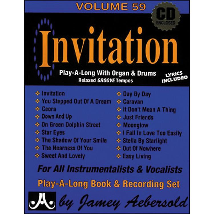 Jamey AebersoldInvitation Book and CD