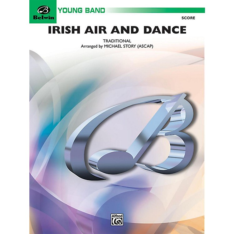 Alfred Irish Air and Dance Concert Band Grade 2 Set