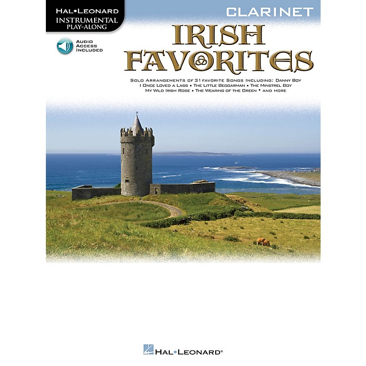 Hal Leonard Irish Favorites (Cello) Instrumental Play-Along Series Softcover with CD