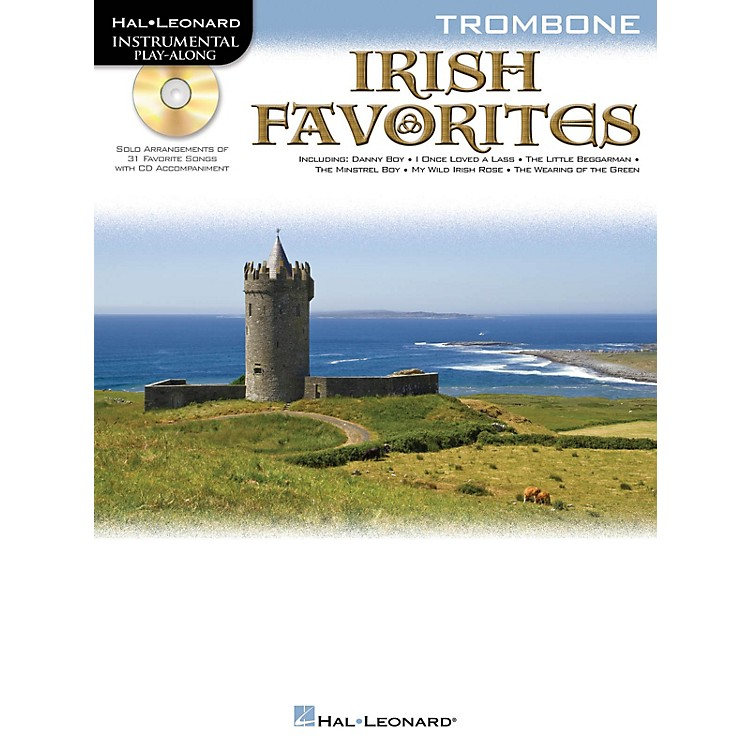 Hal Leonard Irish Favorites (Trombone) Instrumental Play-Along Series Softcover with CD