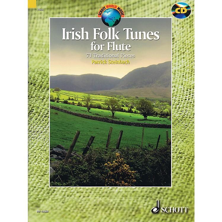 SchottIrish Folk Tunes for Flute Schott Series Softcover with CD